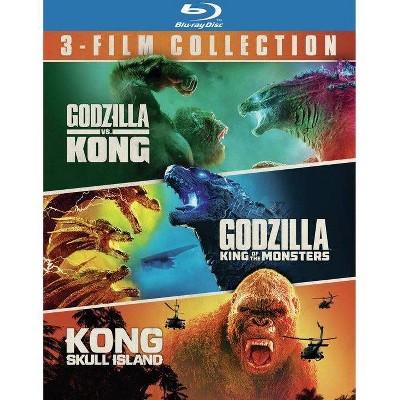 Godzilla vs. Kong/Godzilla: King of the Monsters/Kong: Skull Island: 3 Film Bundle (Blu-ray)