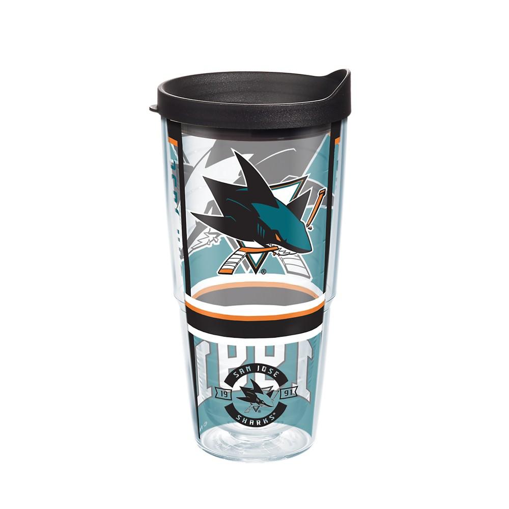 NHL San Jose Sharks 24oz Genuine Tumbler
