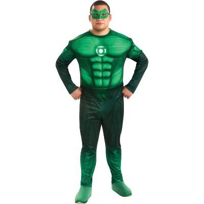 Adult Green Lantern Hal Jordan Halloween Costume XL (42-46)