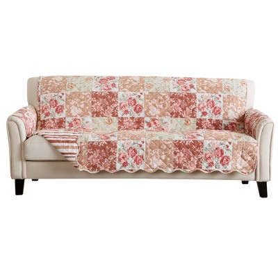 Great Bay Home Maribel Patchwork Sofa Furniture Protector