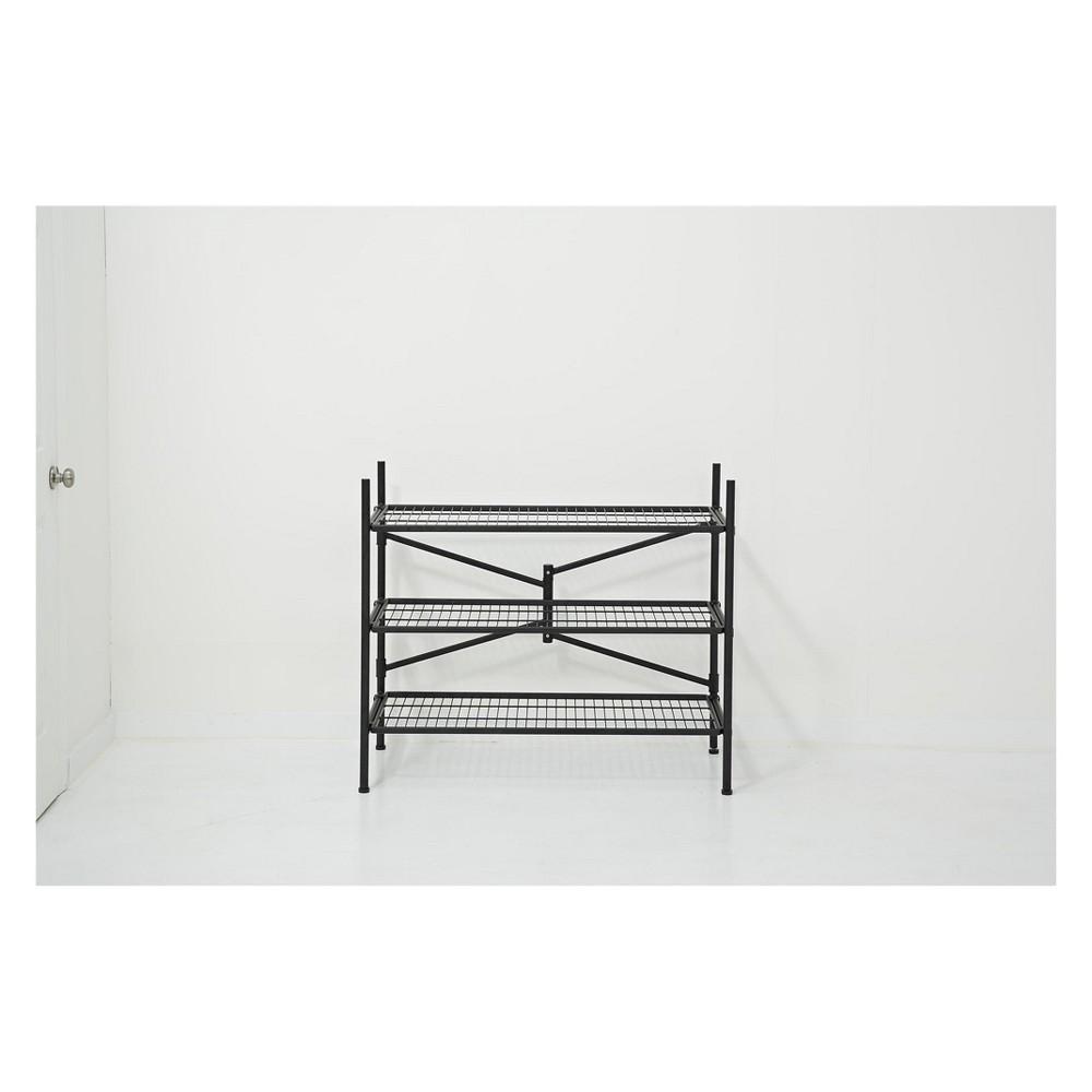 Image of Cosco Garage 3 Shelf Storage Rack Black Products