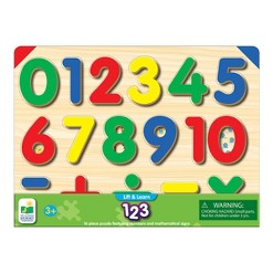 The Learning Journey Lift & Learn 123 Number Puzzle, 16pc