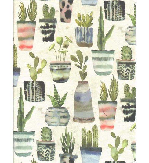 Watercolor Succulents Journal -  (Hardcover) - image 1 of 1