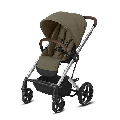 Cybex Balios S 4 In 1 Travel System Lux Stroller with Sun Canopy with All Terrain Never Flat Wheels for Newborns and Up, Classic Beige