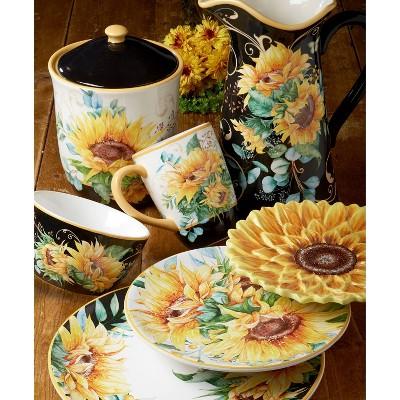 Sunflower Dinnerware Collection - Certified International