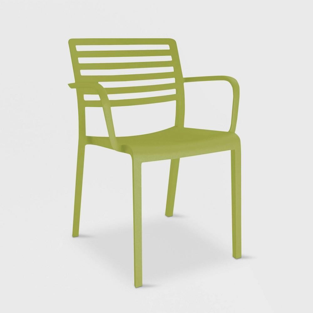 Image of Lama 2pk Patio Armchair - Olive Green - RESOL
