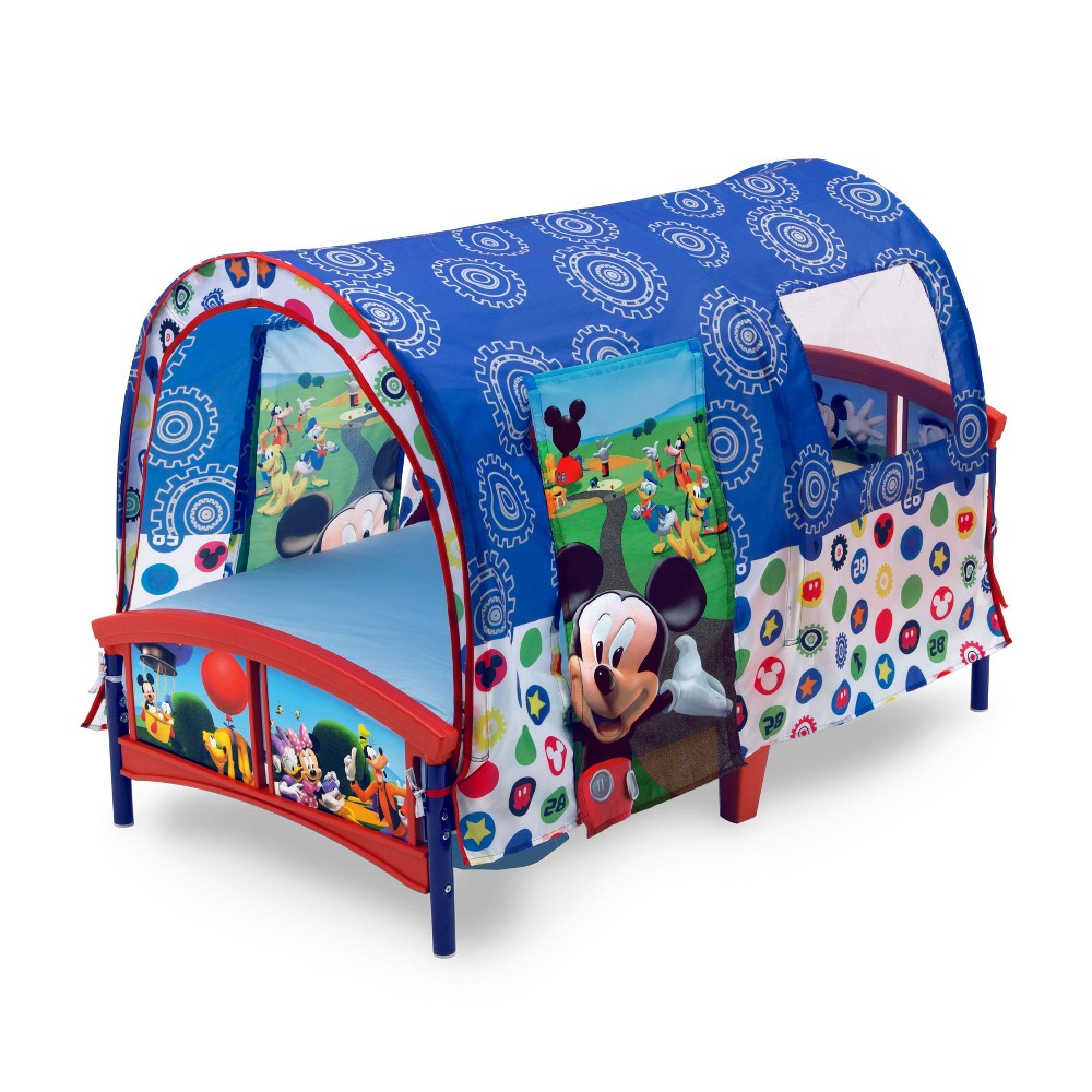 Image of Toddler Disney Mickey Mouse Tent Bed - Delta Children