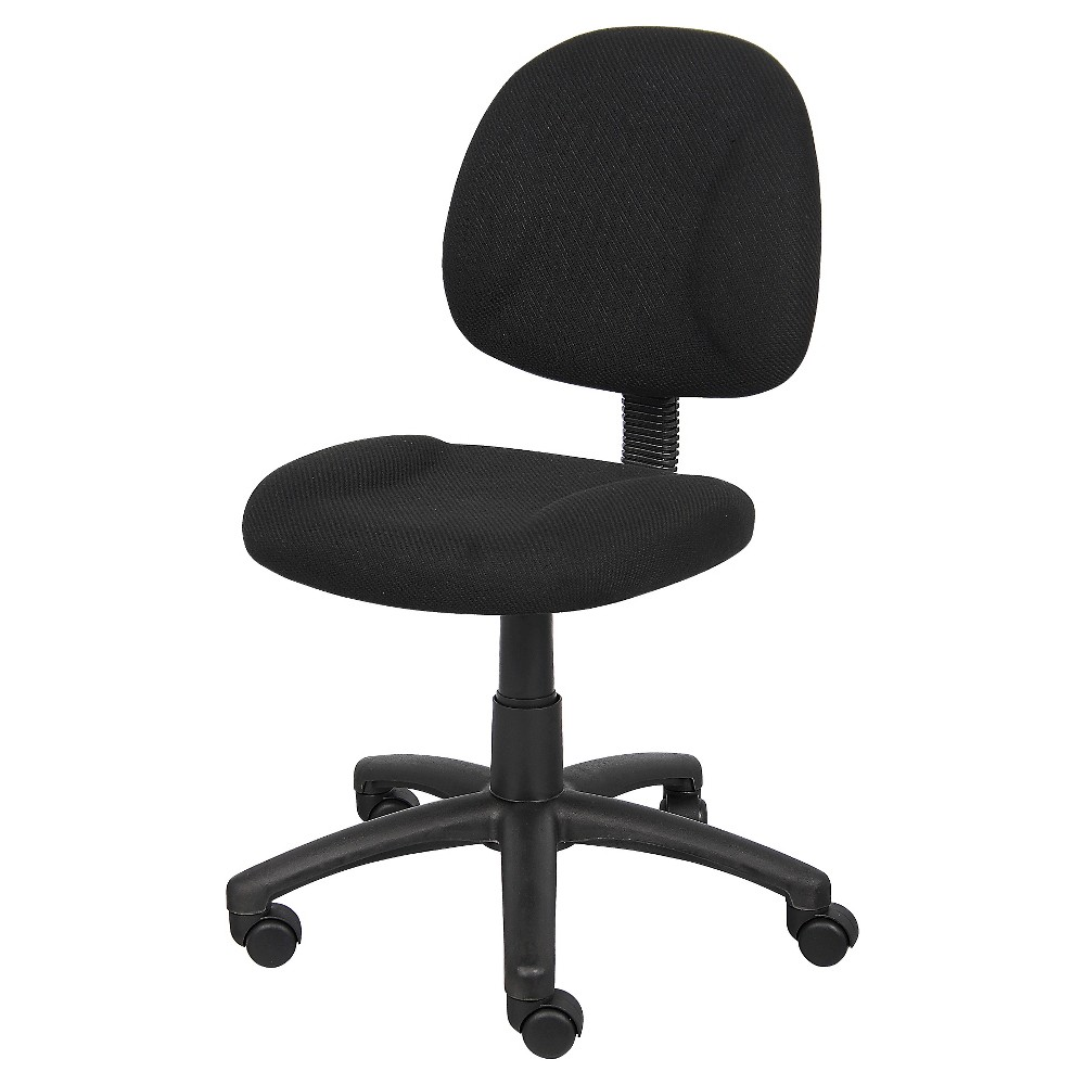 Deluxe Posture Chair Black - Boss Office Products