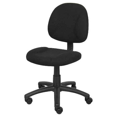 Deluxe Posture Chair Black - Boss Office Products - image 1 of 4