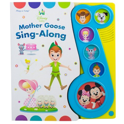 Disney Baby : Mother Goose Sing Along Little Music Note Sound (Board Book)