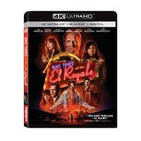Bad Times At The EL Royale 4K UHD + Blu-ray