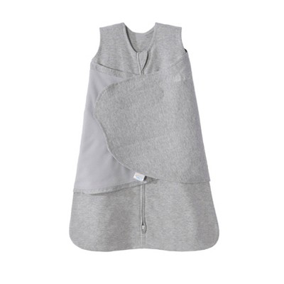 HALO Sleepsack 100% Cotton Swaddle Heather Gray S
