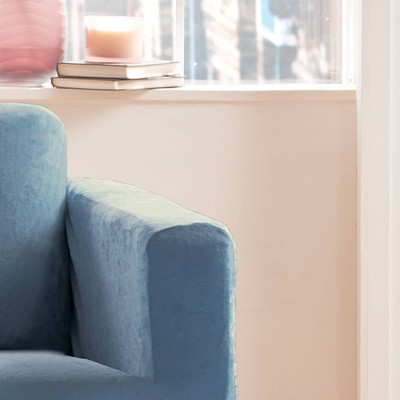 Stretch Micro Suede Sofa Slipcover - Sure Fit