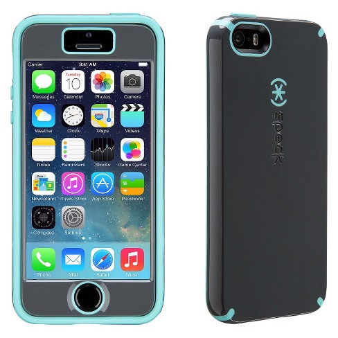 new arrival e4880 e2673 Speck Apple iPhone 5/5s/SE CandyShell with Faceplate - Gray/Blue