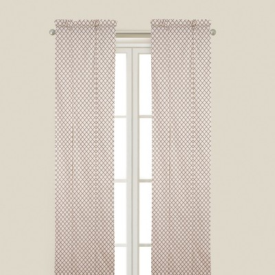 C&F Home Seraphina Brown Drapery Panel