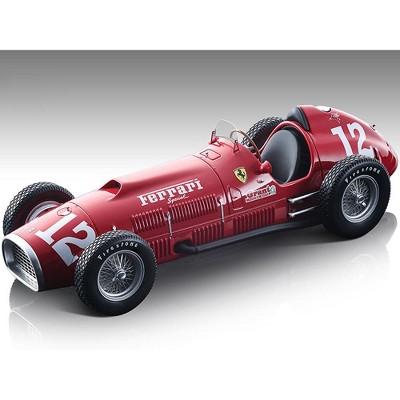 "Ferrari 375 F1 Indy #12 Alberto Ascari 36th Indianapolis 500 Mile (1952) ""Mythos Series"" Ltd Ed 360 pcs 1/18 Model by Tecnomodel"