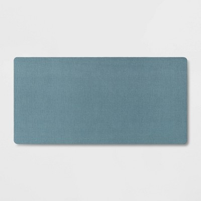 "40"" x 20"" Neoprene Comfort Kitchen Rug Blue - Threshold™"