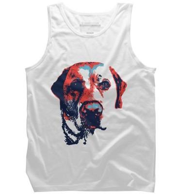 Patriotic Labrador Mens Graphic Tank Top - Design By Humans