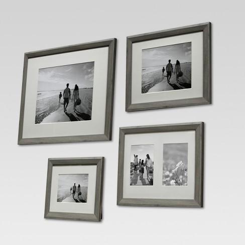 Single Image Frame 5X7 Gray - Threshold™ : Target