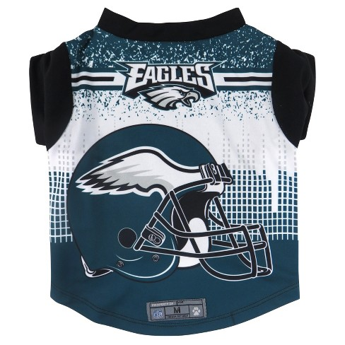 Philadelphia Eagles Little Earth Pet Performance Football T-Shirt - Blue L    Target 4a86960fa