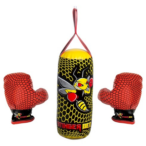 Franklin Sports Stinger Bee Youth Punching Bag and Glove Set - image 1 of 5
