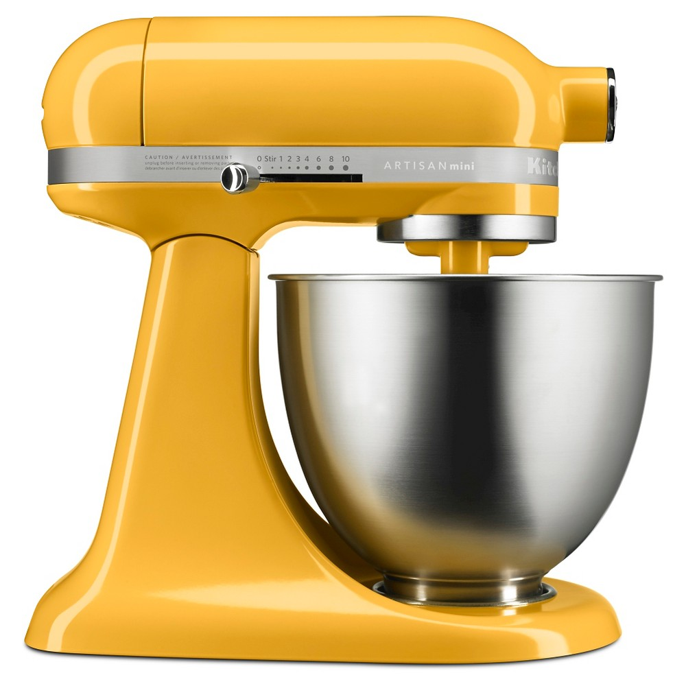 KitchenAid Artisan Mini 3.5qt Tilt-Head Stand Mixer – KSM3311XBF, Orange Popsicle 51003071