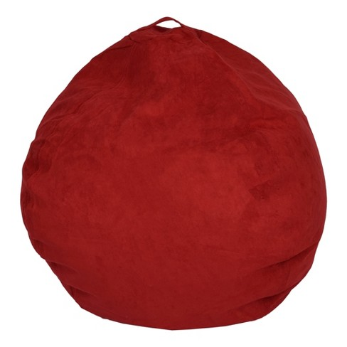 Large Microsuede Bean Bag - Reservation Seating™ - image 1 of 3