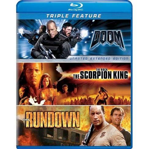 Doom/The Scorpion King/The Rundown [3 Discs] [Blu-ray] - image 1 of 1