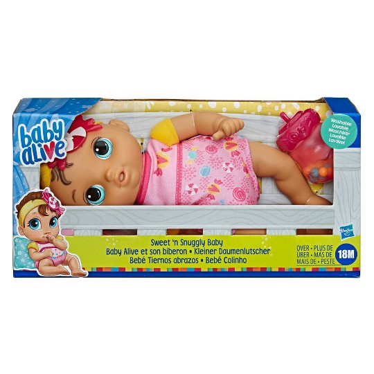 Baby Alive Sweet 'n Snuggly Baby image number null