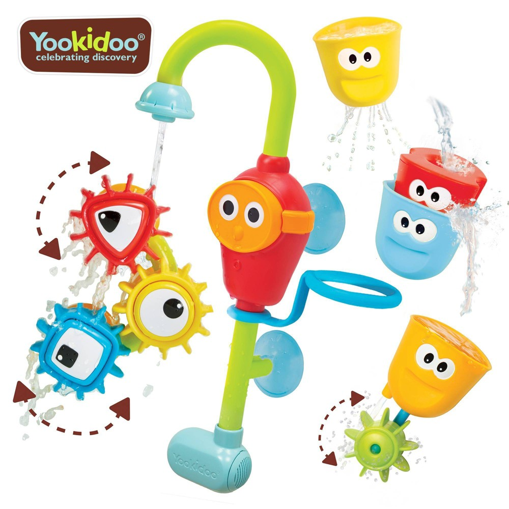 Yookidoo Spin 39 N 39 Sort Spout Pro Bath Toy