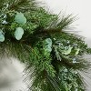 Pine and Eucalytpus Wreath - Threshold™ designed with Studio McGee - image 3 of 4
