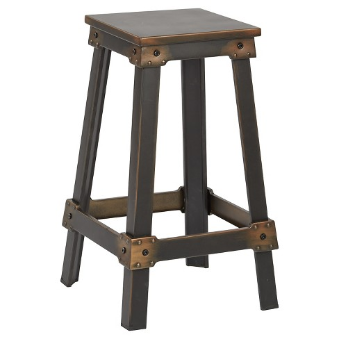 Phenomenal 26 New Castle Barstool Antique Copper Osp Home Furnishings Pabps2019 Chair Design Images Pabps2019Com