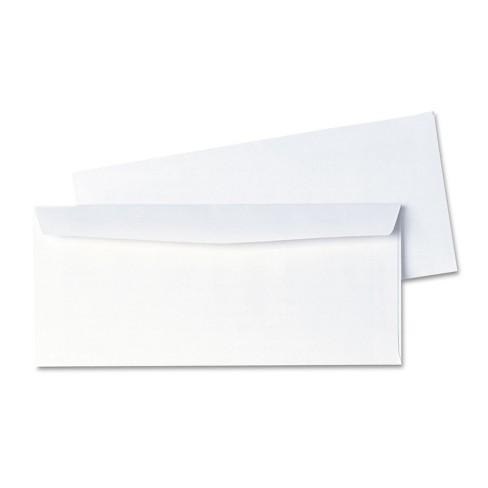 Quality Park Business Envelope Contemporary #10 White 1000/Box 90020B - image 1 of 4