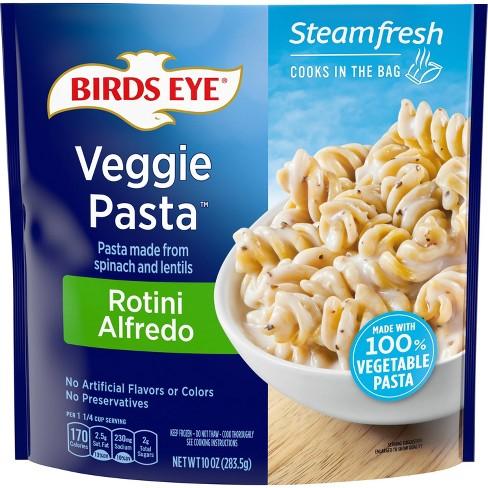 Birds Eye Frozen Spinach Lentil Veggie Pasta Rotini Alfredo - 10oz - image 1 of 3