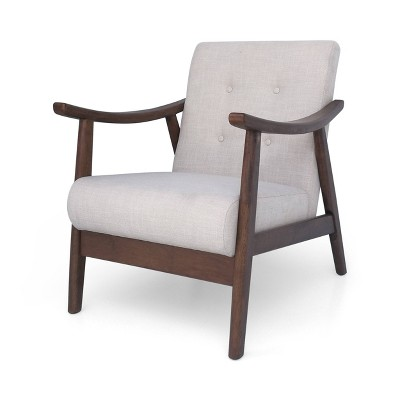 Chabani Mid-Century Modern Accent Chair - Christopher Knight Home
