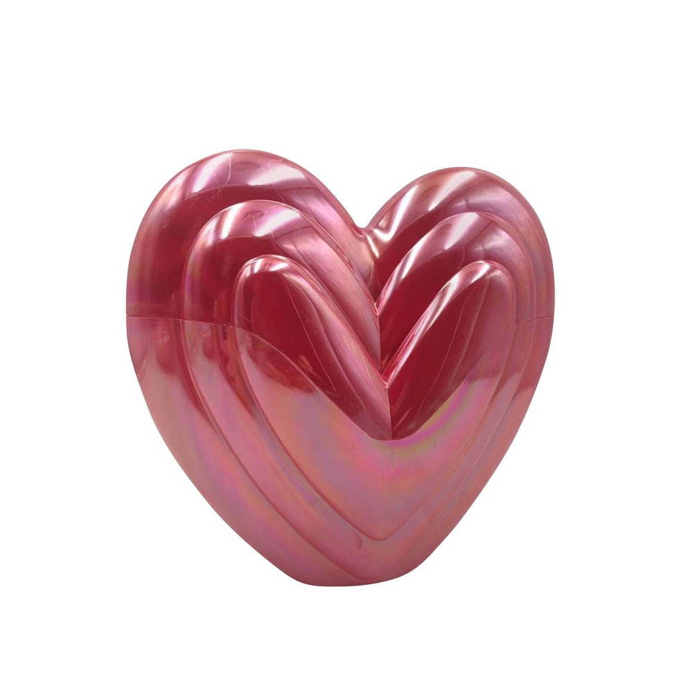 "Image of ""8.5"""" Valentine's Fillable Heart Finish Red - Spritz"""