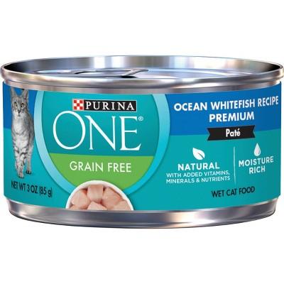 Purina ONE Grain-Free Ocean Wet Cat Food - 3oz