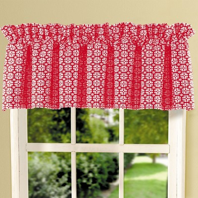 C&F Home Borrego Red Valance
