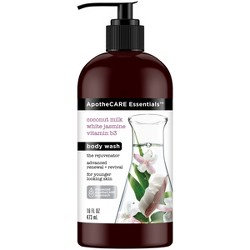 ApotheCARE Essentials Advanced Renewal + Revival Body Wash Soap for Younger Looking Skin - 16fl oz
