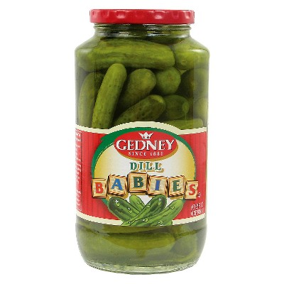 Gedney Pickles Dill Babies - 32oz