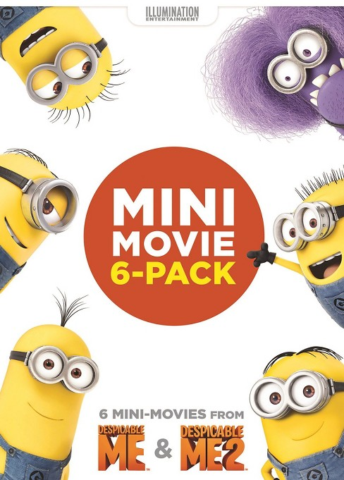 Mini Movie 6-Pack: Despicable Me & Despicable Me 2 (dvd_video) - image 1 of 1