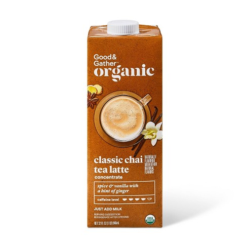 Organic Classic Chai Tea Latte Concentrate - 32oz - Good & Gather™ - image 1 of 3
