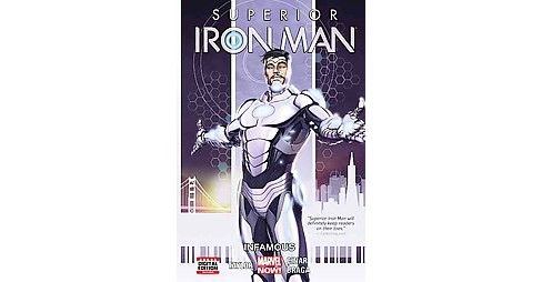 Superior Iron Man 1 : Infamous (Paperback) (Tom Taylor) - image 1 of 1