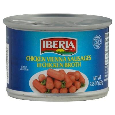 Iberia Chicken Vienna Sausages in Chicken Broth - 9.25oz