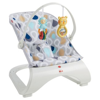 Fisher-Price Comfort Curve Bouncer - Joyful Drops