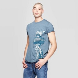b03eac8c3 Men's Short Sleeve Crewneck Texas Graphic T-Shirt - Awake Navy : Target