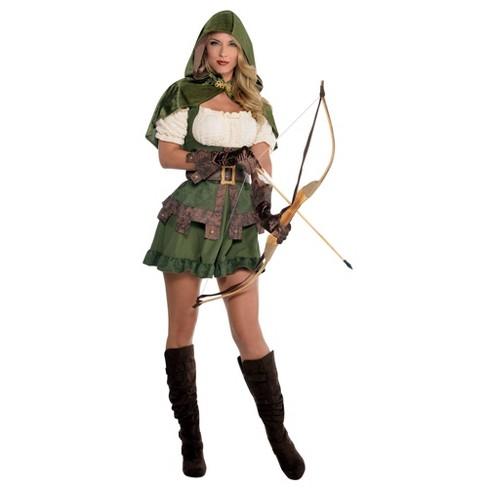 Women's Robin Hoodie Halloween Costume - image 1 of 1