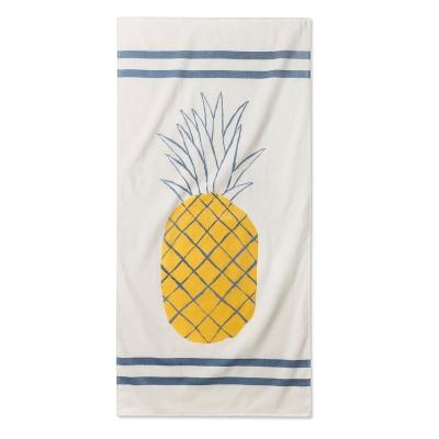 Junk Food Disney Pineapple Beach Towel