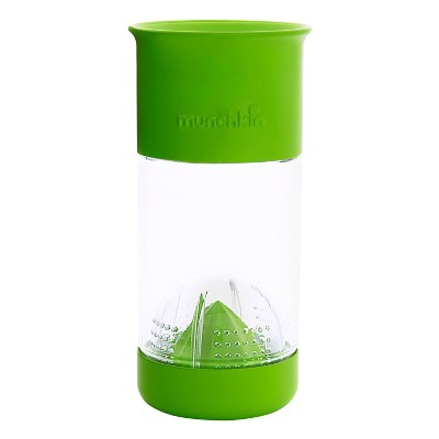 Munchkin Miracle 360 Fruit Infuser Green Sippy Cup 14oz