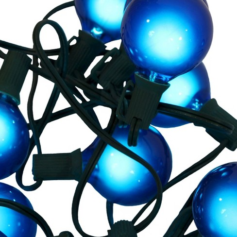 15ct G50 Christmas String Lights - Satin Blue - image 1 of 1
